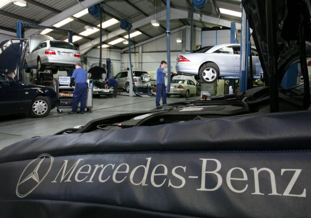 Autoservis pro vozy Mercedes Praha